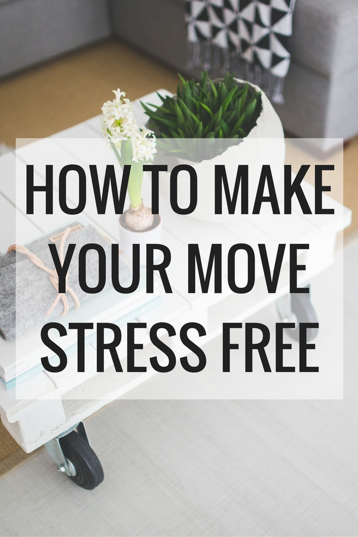 The Best Tips To Make Your Move As Stress-Free As Possible // The Frankson Family