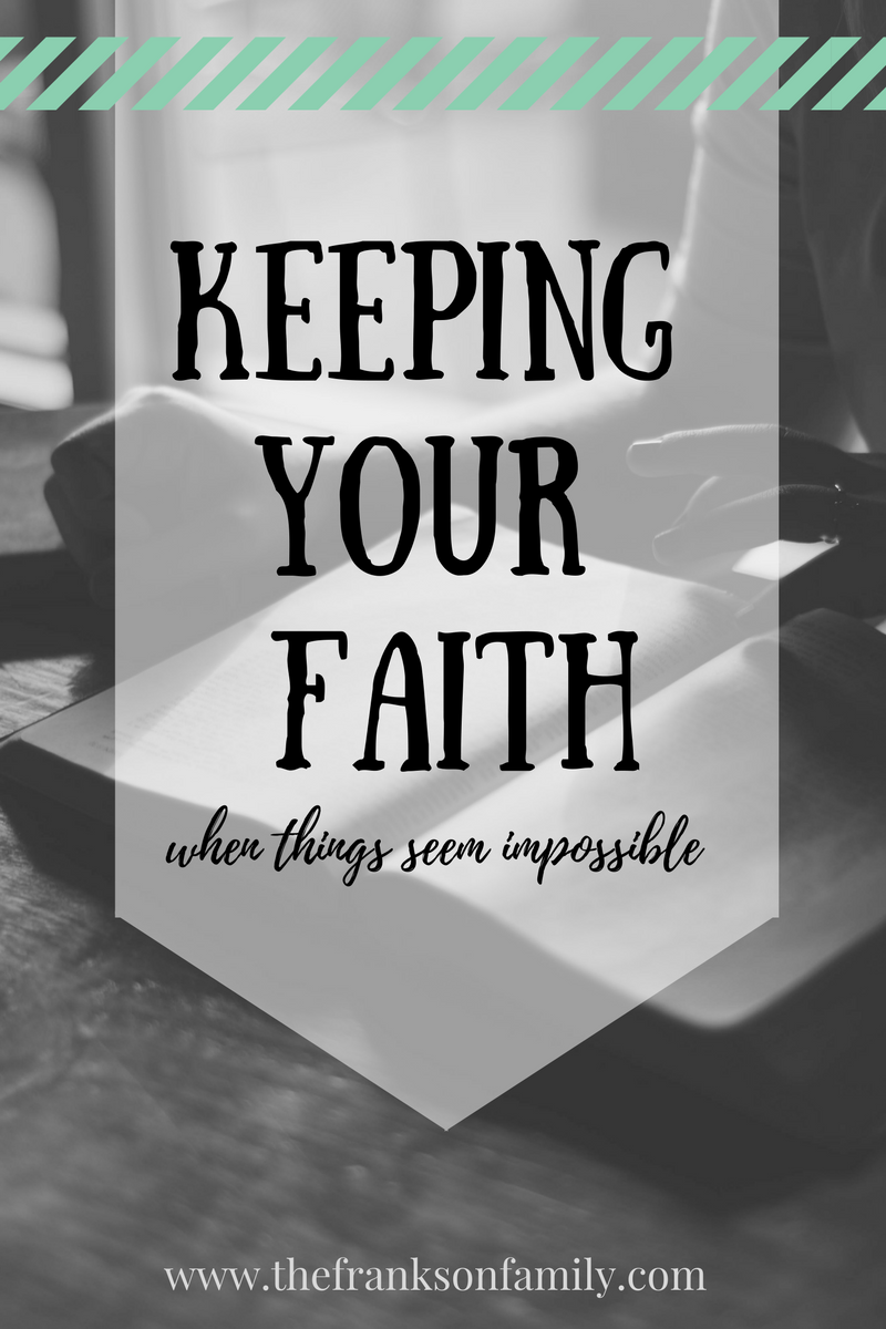 When my husband and I celebrated our six month anniversary, we were both unemployed and had no idea how to make ends meet. We put our faith in Jesus Christ, and held tightly to His goodness, His love and His ways.