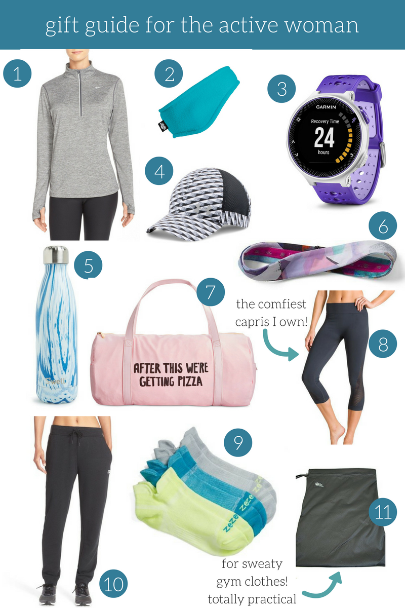 Gift Guide for the Active Woman | The Frankson Family
