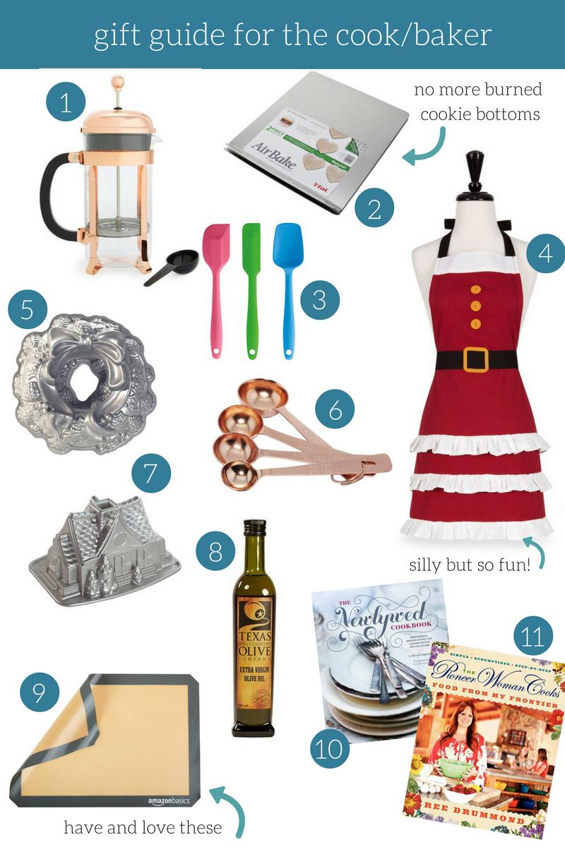 Gift Guide For Baker/Cook | The Frankson Family