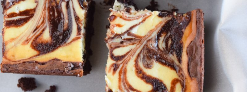 The Easiest Cream Cheese Swirl Brownies