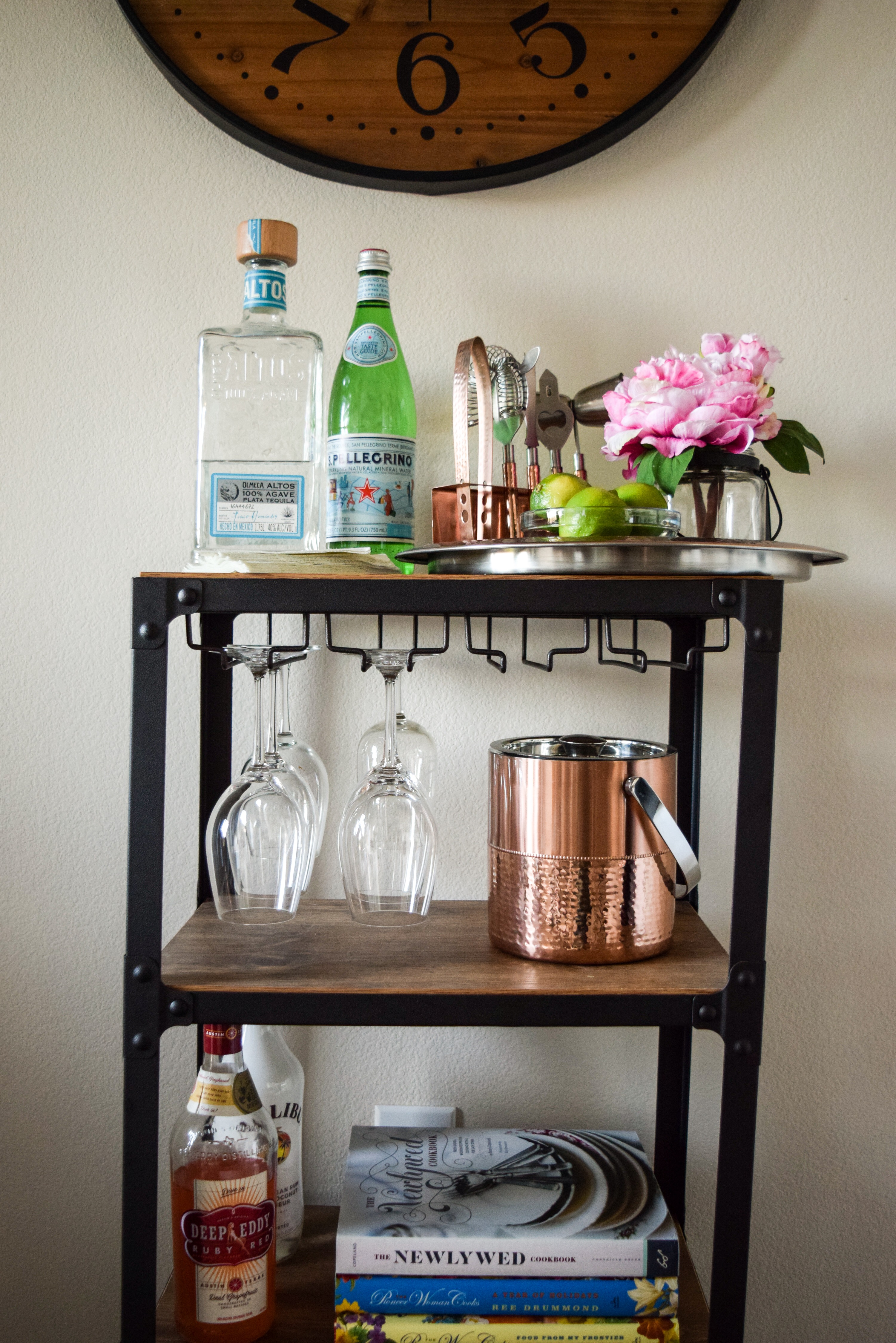 How To Style A Bar Cart (On A Budget!)