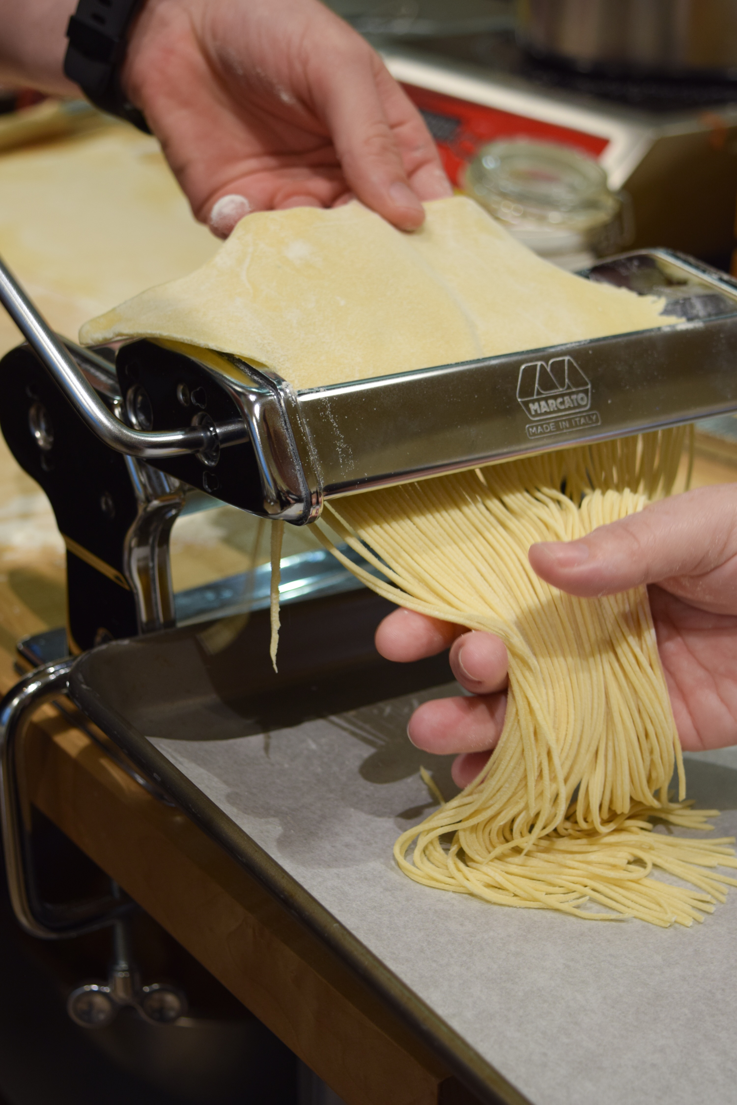 sur la table cooking class | pasta from scratch | date night ideas & Date Night: Sur La Table Pasta Making Class - A Simplified Life