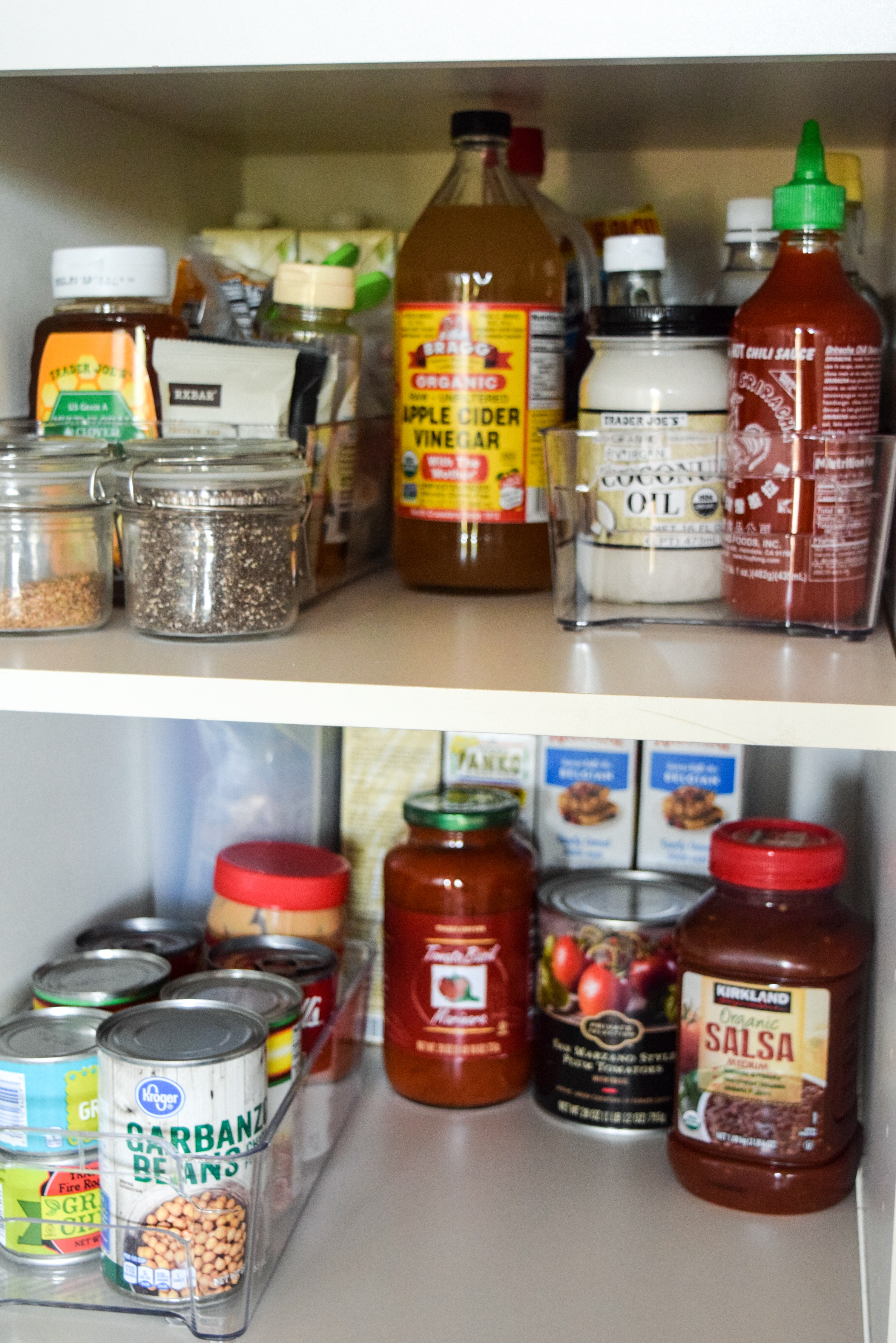 After About An Hour Of Work I Had Organized Deep Pantry Today M Sharing My Tips And Tricks That Will Help You Go From What See Above To