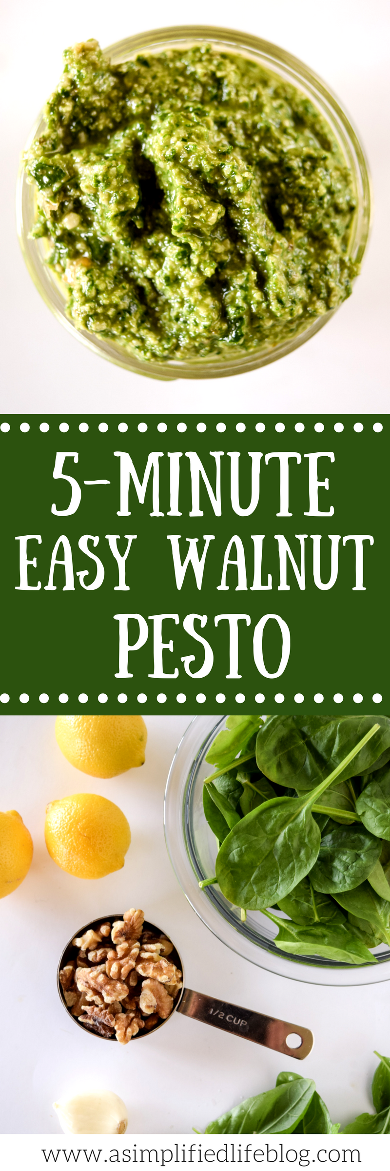 how to make pesto | easy pesto recipe | how to make pesto sauce | easy pesto | walnut pesto | vegan pesto
