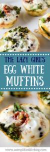 egg white muffin recipe | easy egg white muffins | egg muffin recipe | easy breakfast recipe | meal prep | breakfast meal prep | easy breakfast meal prep