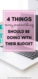 4 Things Every 20-Something Should Be Doing With Their Budget