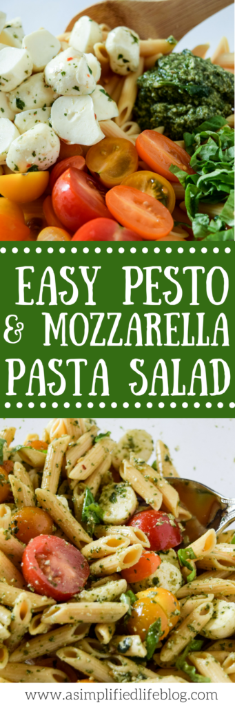pesto pasta salad | easy pasta salad | summer bbq sides | healthy side dishes | healthy side recipes | pasta salad recipe | pasta salad | pesto pasta salad healthy |