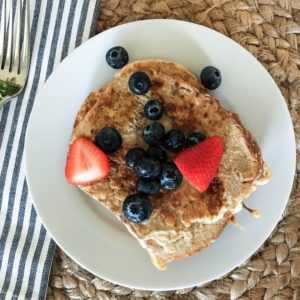 Paleo Ezekiel Bread Cinnamon French Toast