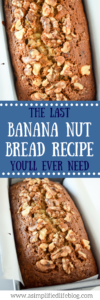 The Last Banana Nut Bread Recipe You'll Ever Need