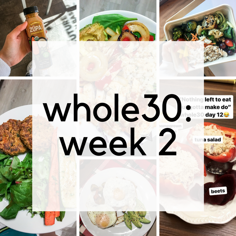 Whole30 Week 2 Recap